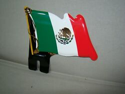 Mexico Flag License Plate Topper Mexican Topper Stamped Steel Mexico Topper