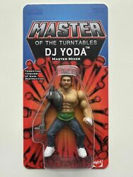 New Dj Yoda X Ryca Collectable Action Figure - Signed