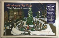 Department 56 Village Animated Accessory Set All Around The Park 52477 Working