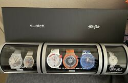 Swatch Nasa Space Collection Exclusive Watch Set Szs32 Sold Out