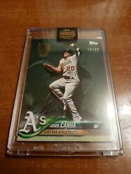 Mark Canha 2021 Topps Archives Autograph Auto D 18/90
