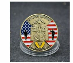 Usa Army Fan We Make Marines Coin Always A Marine Commemorative Challenge Coins