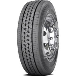 4 New Goodyear Kmax S 285/70r19.5 Load H 16 Ply Steer Commercial Tires