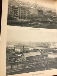 Vintage Tacoma City Booklet Early Pictorial 1900and039s Photo Gravures