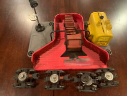 Lionel Trains Post War Vintage 397 Red Yellow Operating Coal Loader W Light
