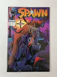 Spawn 2 1st Appearance Of Violator Signed And Remark By Todd Mcfarlane
