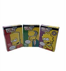 The Simpsons Trading Card Game Mr. Burns Lisa Bart Theme Decks New Wizards Wotc