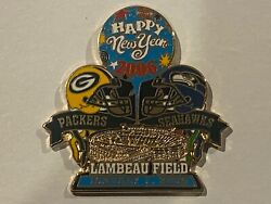 Green Bay Packers Game Pin V Seattle Seahawks January 1 2006 01/01/06 New Years