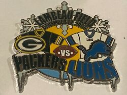 Green Bay Packers Game Day Pin Vs Detroit Lions December 17 2006 12/17/06