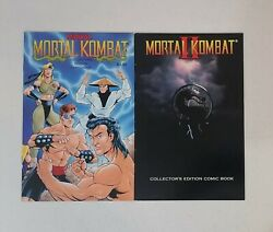 Mortal Kombat I And Ii Midway Collectors Edition Comic Books Rare Hard To Find