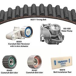 Dayco Products Inc Water Pump Kit With Timing Belt Camshaft Tensioner Wp277k3a