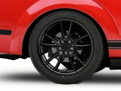 American Muscle Track Pack Rear Wheel In Gloss Black 19x10 For Mustang 2005-2009