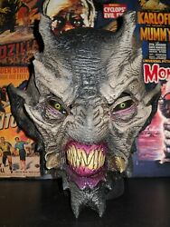Rare Monster Of The Shadows Astro Alien Mask Distortions Unlimited Tommy Cassidy