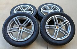 4 2020 19 Porsche Macan S Oem Factory Staggered Wheels + Tires And Tpms Sensors