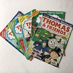 Thomas The Tank Engine And Friends Magazines Vintage 2000-2002 Lot Of 5 Uk Us