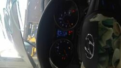 Speedometer Cluster Us Market Mph Fits 16-17 Veloster 146905