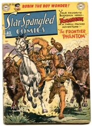 Star Spangled Comics 100 1950- Bat-hound Tryout Issue Vg-
