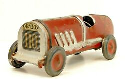 1920's Oh-boy 110 Pressed Steel Auto Race Car Toy