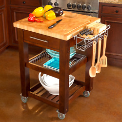 Chris And Chris Chef Series Kitchen Cart