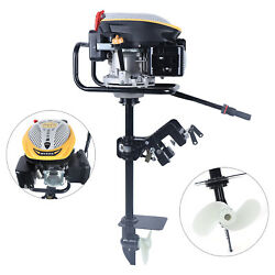 9hp 4 Stroke Outboard Motor Fishing Boat Engine With Air Cooling System 225cc Us