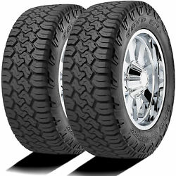 2 Tires Toyo Open Country C/t Lt 225/75r17 Load E 10 Ply