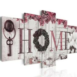 5PCS Concise Wall Paintings Home Letter Printed Photo Art Wedding Fashion Decor