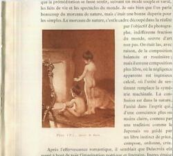 Antique Victorian Sister Child Girl Fireplace After Bath Miniature Small Print