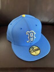Authentic New Era Boston Red Sox 2021 City Connect 59fifty Men's 7 1/2 Hat