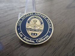 Los Angeles Airport Police Officer Serving The Aviation Community Challenge Coin