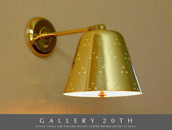 1950s Mid Century Paavo Tynell Wall Sconce Rare Finland House Atomic Decor