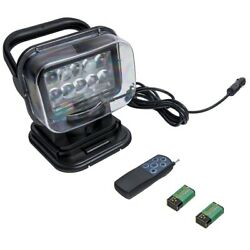 50w Led Search Light With Remote And Magnetic Base 360° For Universal Truck Atv