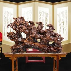 Best Resin Horse Statues Figurines Ornaments Horse Sculpture Fortune Crafts Deco