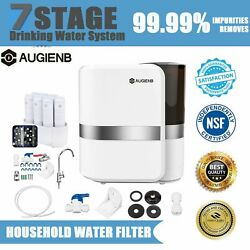 7 Stage Drinking Reverse Osmosis System Plus 7 Express Water Filter Machine Ph