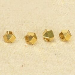 Fashion Faceted Copper Beads 2mm 2.5mm 3mm 4mm 5mm European Handmade 100pcs/lot