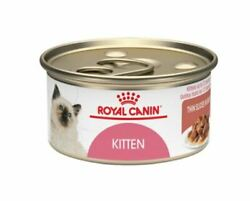 Royal Canin Thin Slices In Gravy Wet Kitten Food 3oz 24ct Cans New