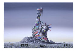 Roamcouch Jeff Gillette Forever Slaves Print S/n Coa Banksy Whatson Sold Out