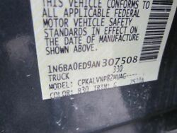 Automatic Transmission 2wd With Package Big Tow Fits 10 Titan 28875