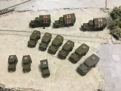 n Scale Ww 2 Era Military Army Ambulance Mobile Medical Unit 3d Unpainted