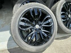 4x Like New Genuine 21 Range Rover Sports Hse Rims Continental Tyres Discovery