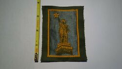 Extremely Rare Wwi 77th Statue Of Liberty Liberty Loan Style Patch. Rare