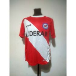 Argentinos Juniors Soccer Jersey Signia 2007 Size L Match Worn