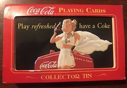 Coca Cola - Collector Tin - Playing Cards - Sealed