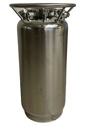 50l 304 Stainless Steel Solvent Tank 50 Liter Closed Loop Extractor