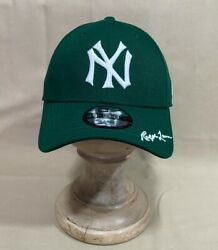 Polo Men's Classic Ny Yankees New Era Fitted Hat Cap Green, Size L