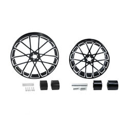 23 Front 18and039and039 Rear Wheel Rim W/ Hub Fit For Harley Electra Street Glide 08-21
