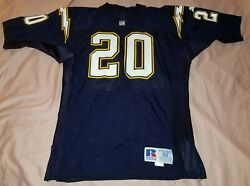90s San Diego Chargers Natrone Means Pro Cut Game Issued Jersey - Size 50 Xl