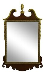 52267ec Friedman Brothers Mahogany Chippendale Style Mirror