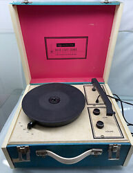 Sears Roebuck And Co Silvertone Solid State Stereo Portable Record Player