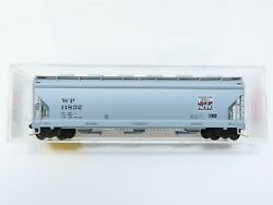 N Scale Micro-trains Mtl 93050 Wp Western Pacific 3-bay Covered Hopper 11832