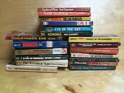19 Vintage Science Fiction Fantasy Paperback Great Collectible Lot Sci-fi